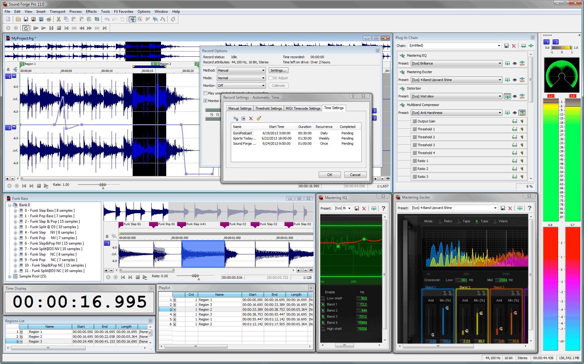 Скачать sony sound forge 10 rus бесплатно